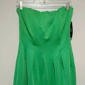 NWT strapless summer dress